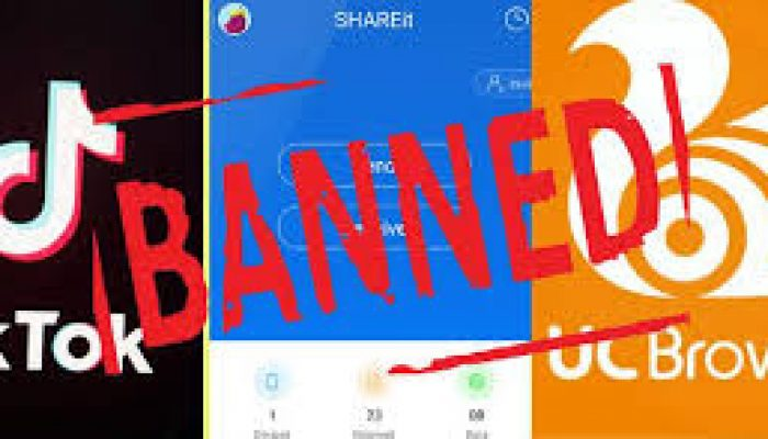 59 Chinese Apps Banned By India including TikTok