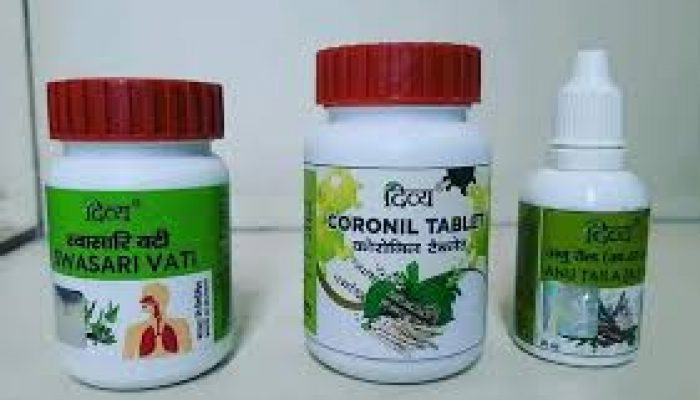 Patanjali launches new drugs for corona virus central government asking for details.