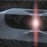 A Black hole revolving around a wormhole would transmit abnormal gravitational waves,wormhole vs black hole,wormhole theory