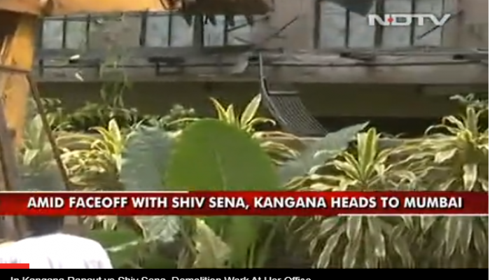 """""""Mumbai Is PoK, Pakistan"""": Kangana Ranaut On Demolition Of Her Office"""
