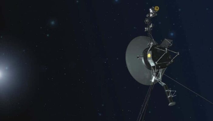 In the Dark and Empty region , Voyager 1 Detects 'Hum' of Plasma Waves